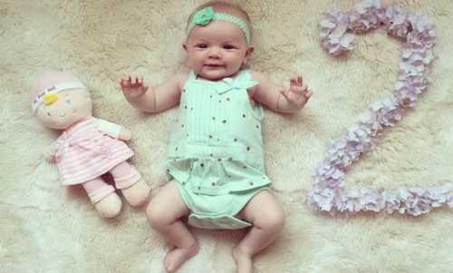 Ребенок в 2 месяца