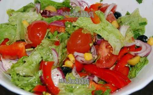Праздничные салаты без майонеза