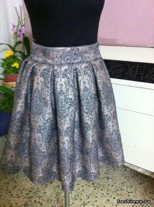 Как сшить юбку татьянку