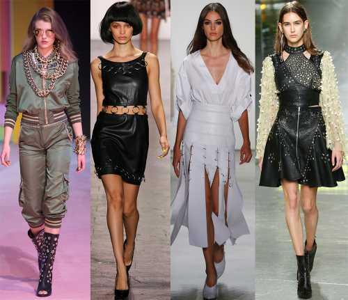 Отличительные особенности моделей платьев удлиненные застежки поло, нагрудные карманы и шлевки, расположенные таким образом, чтобы ремень сидел ниже линии талии