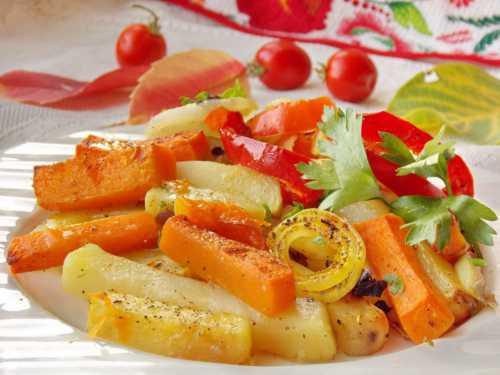 Рецепты картошки с тыквой в духовке, секреты