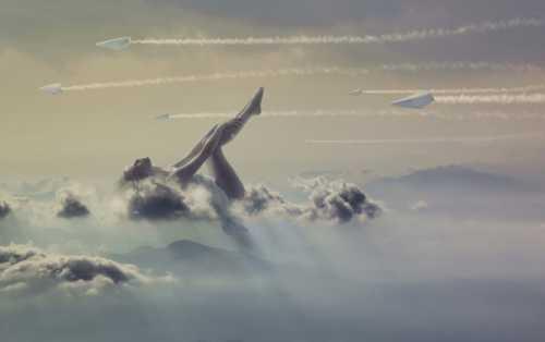 Небо, самолет, девушка: репортаж из воздуха