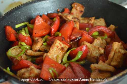 Рецепты свинины с болгарским перцем: секреты