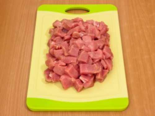 Аппетитный антрекот из свинины