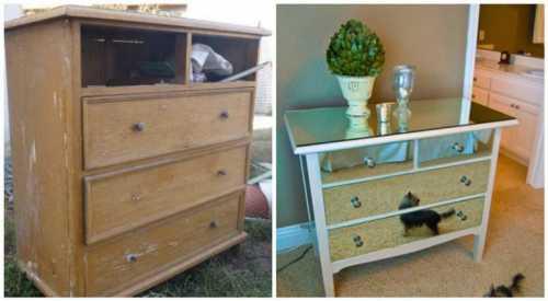Не спеши выбрасывать старую мебель
