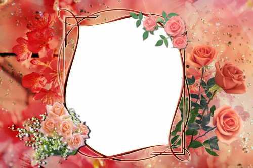 Рамка для фотографий Цветочная