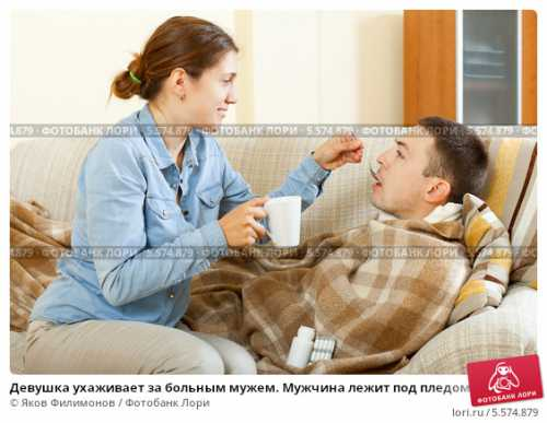 Мужчины и женщины болеют по