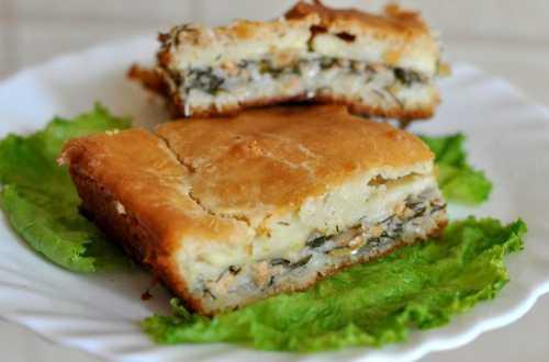 Пошаговый рецепт пирога с картошкой,  секреты