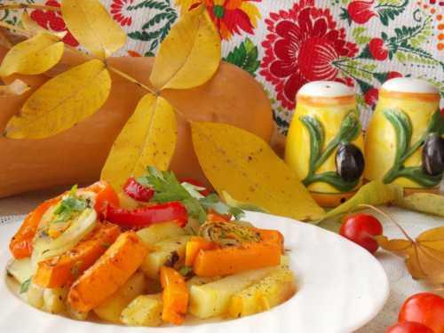 Что приготовить из картошки с тыквой в духовке Составляем меню осенне