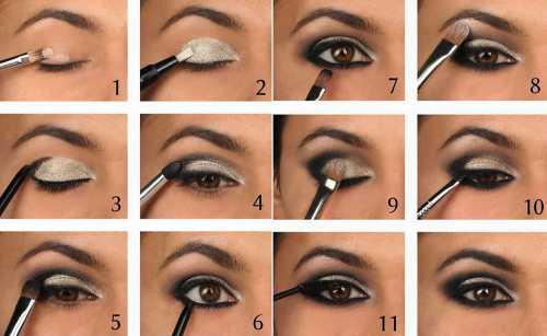 Как сделать макияж в домашних условиях быстро и