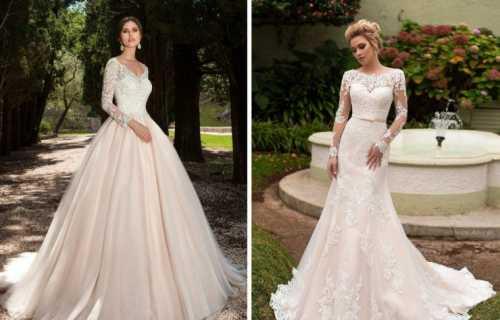 Новинки Модных трендов свадебных платьев 2012 года