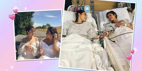 Подруга Селены Гомес пожертвовала ради нее почкой