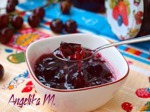Вишнёвое желе: рецепты быстрых десертов, заготовок на зиму