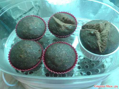 Кексы в пароварке