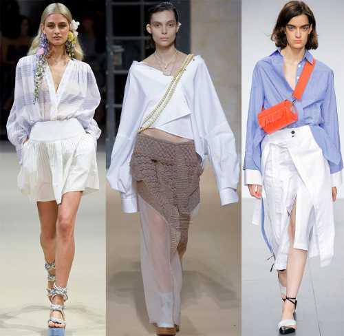 Модные блузки сезона весна