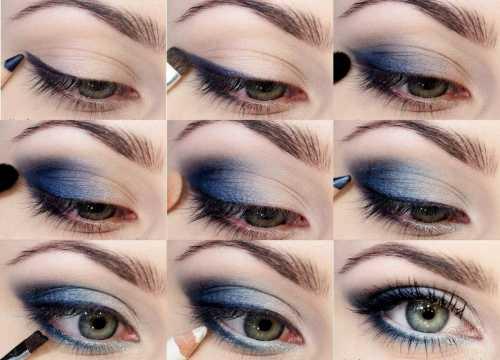 Макияж на Новый год 2018: как сделать макияж глаз фото и видео