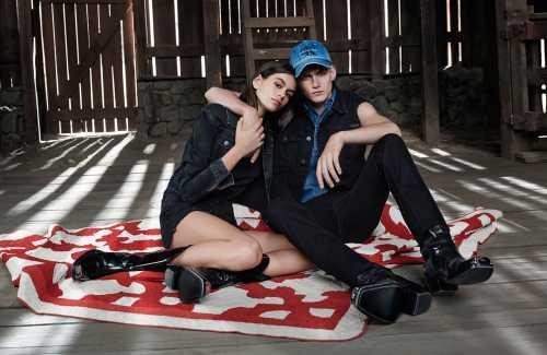 Дети Синди Кроуфорд снялись в рекламной кампании Calvin Klein