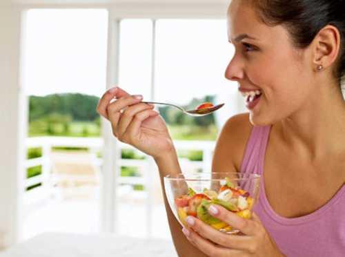 Правильные действия в еде