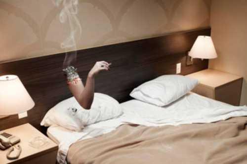 Курение и здоровый сон несовместимы, говорят