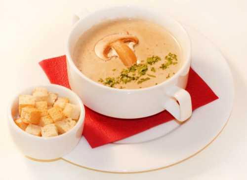 Рецепты супа из шампиньонов со сливками, секреты