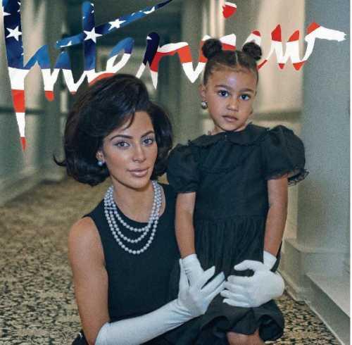 Ким Кардашьян примерила образ Жаклин Кеннеди