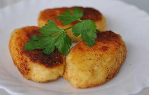 Пирожки из картофельного пюре