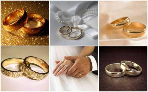 Разнообразие обручальных колец в современной свадебной культуре