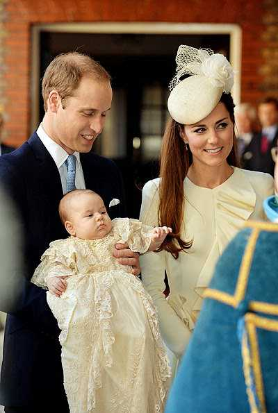 Выбраны крестные принца Джорджа