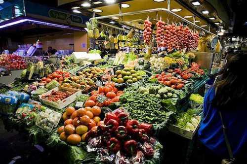 На рынок за продуктами