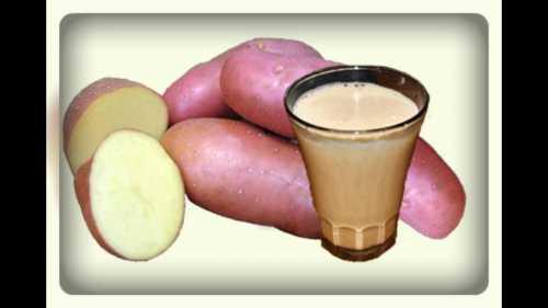 Польза картофельного сока, возможный вред, кому